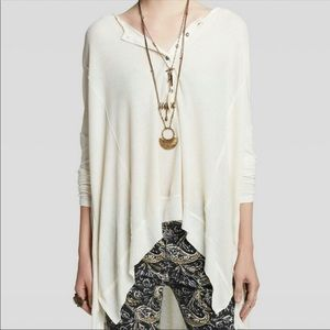 Free People Henley loose fit